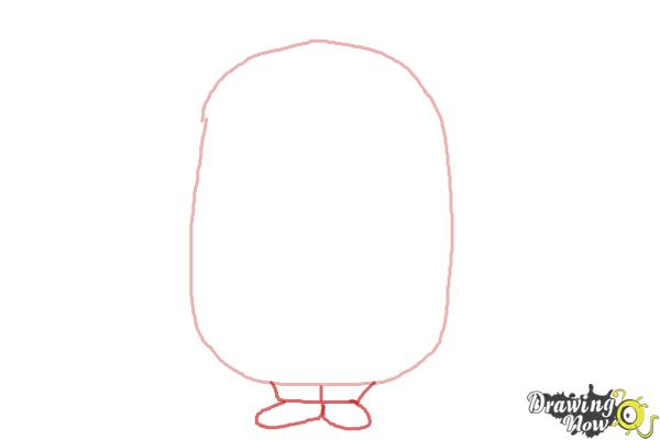 How to Draw a Minion Step by Step - Step 2
