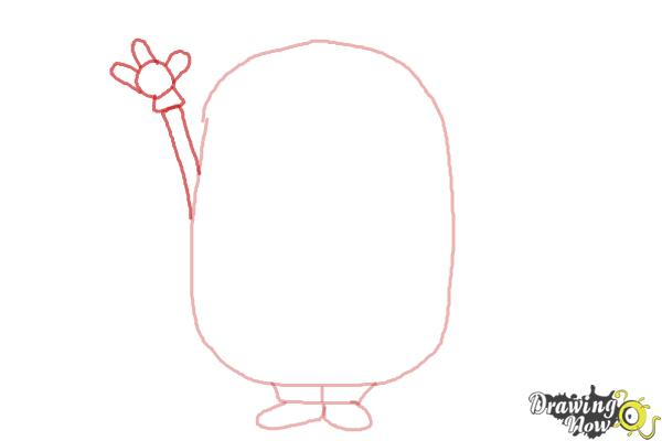How to Draw a Minion Step by Step - Step 3