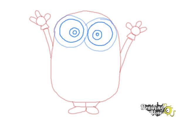 How to Draw a Minion Step by Step - Step 6