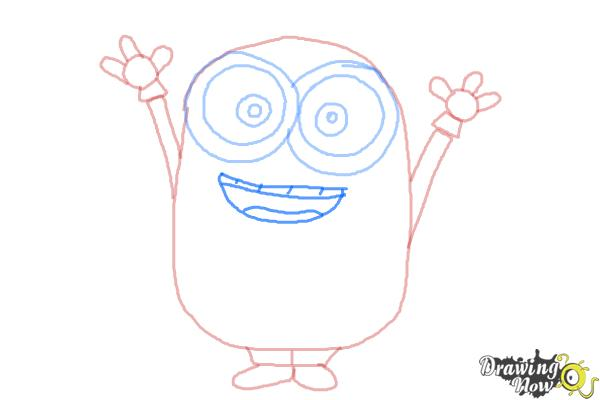 How to Draw a Minion Step by Step - Step 7
