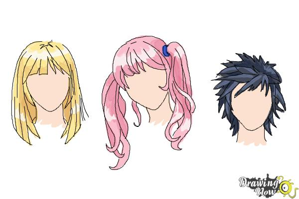 How To Draw Manga Hair