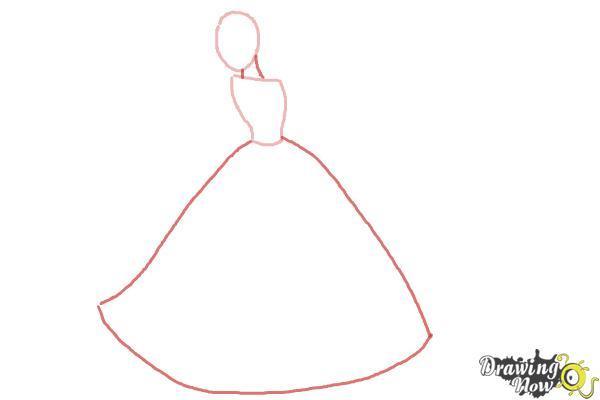 How To Draw Disney Princesses Drawingnow How To Draw A Disney Princess