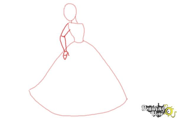 How to Draw Disney Princesses - Step 3