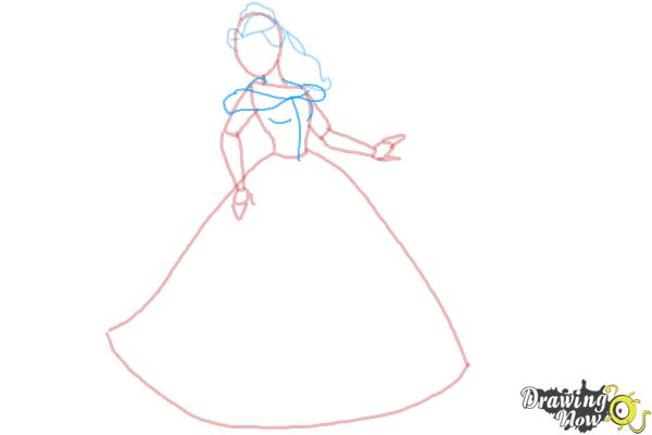 How to Draw Disney Princesses - Step 6