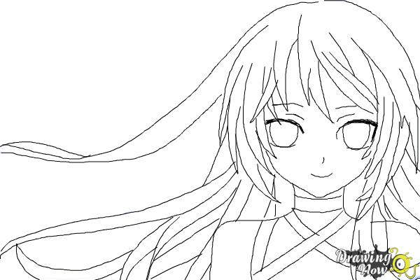 how to draw anime step by step drawingnow