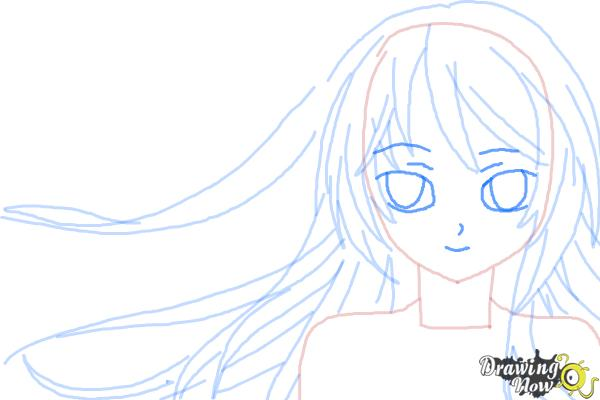 How to Draw Anime Step by Step - Step 8