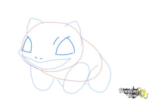 How to Draw Pokemon Bulbasaur - Step 5
