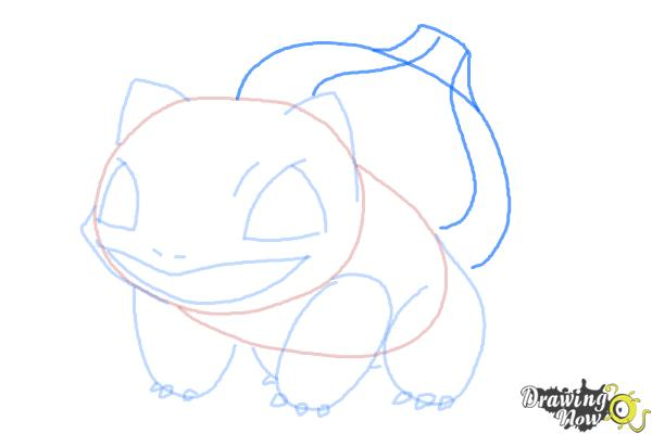 How to Draw Pokemon Bulbasaur - Step 7