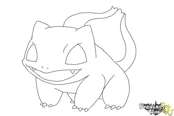 How to Draw Pokemon Bulbasaur - Step 8