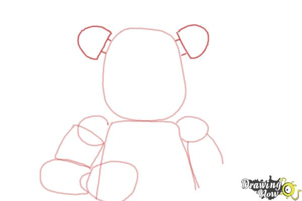 How to Draw Five Nights at Freddy's - Step 5