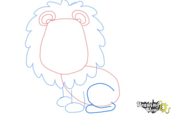 How to draw a lion for kids drawingnow how to draw a lion for kids step 7 thecheapjerseys Images