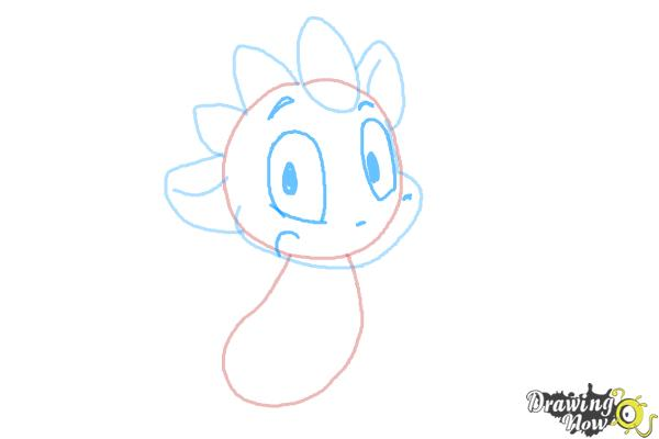 How to Draw a Simple Dragon - Step 4