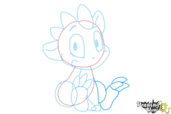How to Draw a Simple Dragon - Step 6