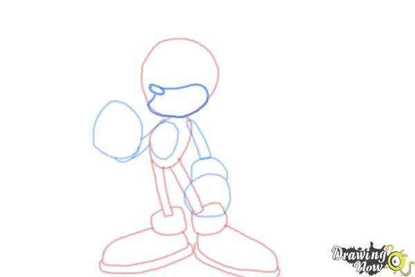 How to Draw Super Sonic - Step 6