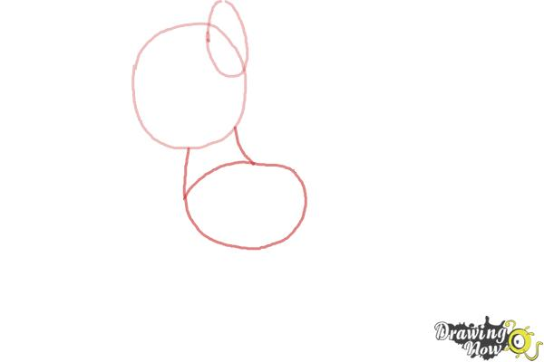 How to Draw My Little Pony Step by Step - Step 2