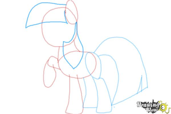 How to Draw My Little Pony Step by Step - Step 6