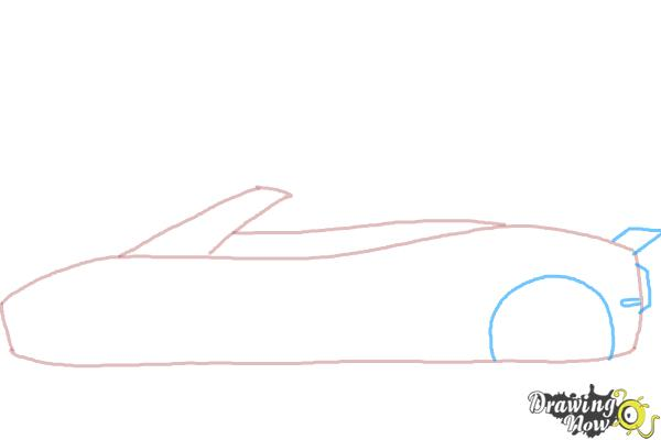 How to Draw a Car Easy - Step 3