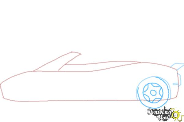 How to Draw a Car Easy - Step 4