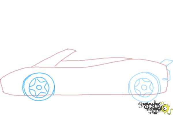 How to Draw a Car Easy - Step 5