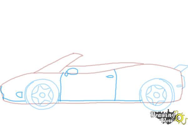 How to Draw a Car Easy - Step 6