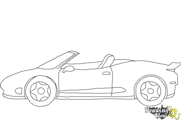How to Draw a Car Easy - Step 8