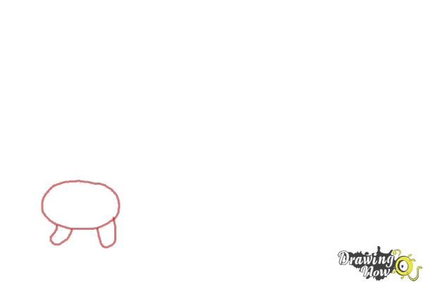 How to Draw Simple Animals - Step 1