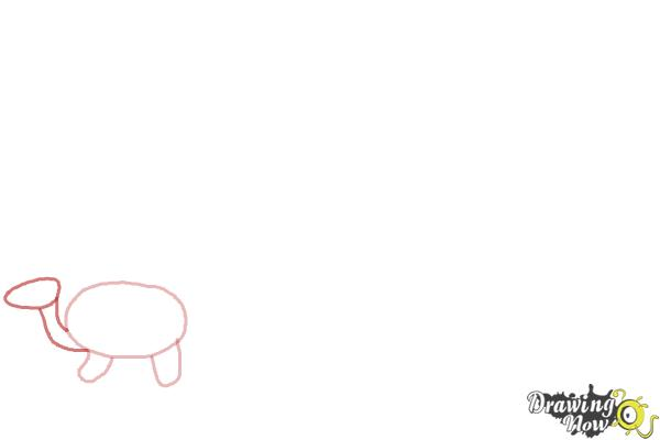How to Draw Simple Animals - Step 2