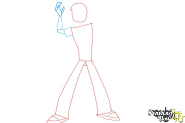 How to Draw Ben 10 Omniverse - Step 5