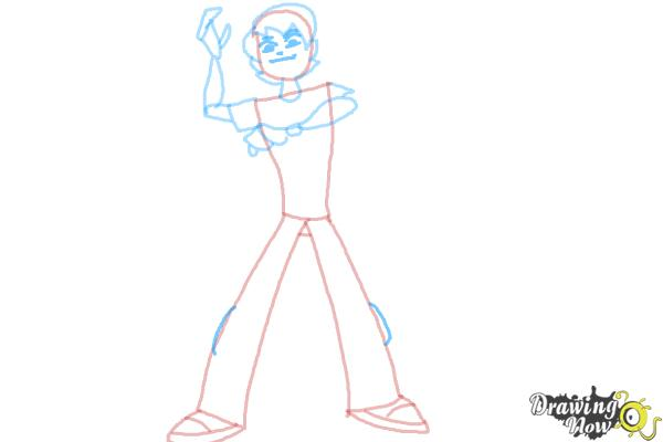How to Draw Ben 10 Omniverse - Step 8