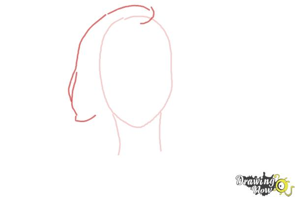 How to Draw a Pretty Girl - Step 2