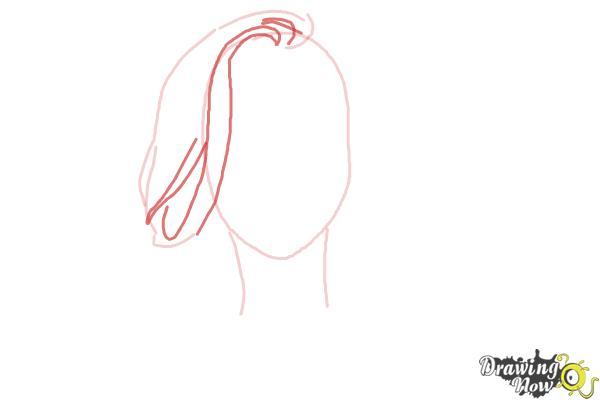 How to Draw a Pretty Girl - Step 3