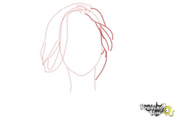 How to Draw a Pretty Girl - Step 4