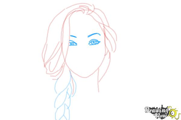 How to Draw a Pretty Girl - Step 6