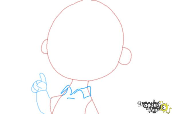 How to Draw Charlie Brown from The Peanuts Movie - Step 5