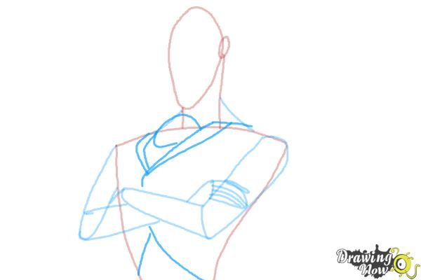 How to Draw Dracula from Hotel Transylvania 2 - Step 6