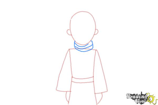 How to Draw The Little Prince - Step 4