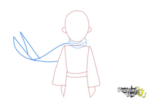 How to Draw The Little Prince - Step 5
