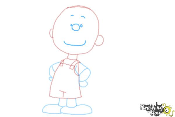 How to Draw Pig Pen from The Peanuts Movie - Step 8