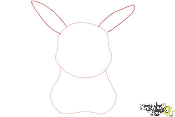 How to Draw Pikachu Easy - Step 3