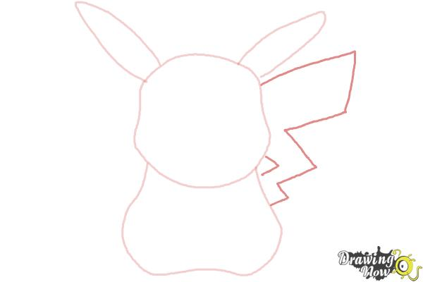 How to Draw Pikachu Easy - Step 4