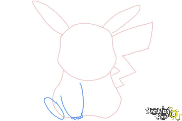 How to Draw Pikachu Easy - Step 5