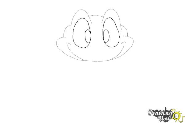 How to Draw a Frog Step by Step - Step 4