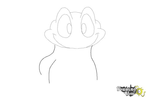 How to Draw a Frog Step by Step - Step 5