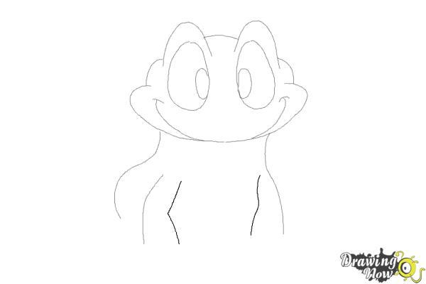 How to Draw a Frog Step by Step - Step 6