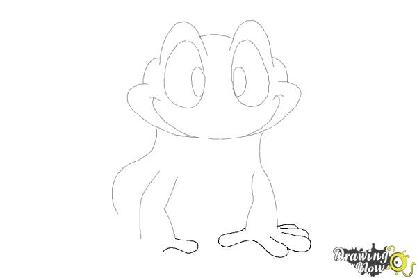 How to Draw a Frog Step by Step - Step 7