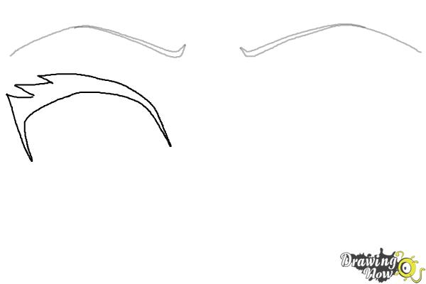 How to Draw Anime Eyes Step by Step - Step 2