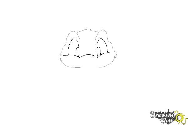How to Draw a Rabbit Step by Step - Step 3