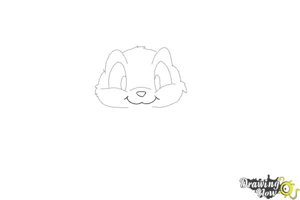 how to draw a rabbitstep by step