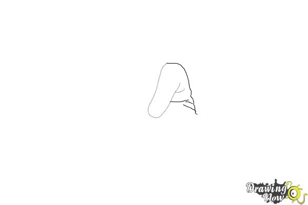 How to Draw a Hand - Step 2
