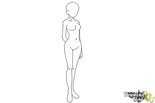 How To Draw Anime Body Ver 2 Drawingnow
